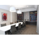 Newly remodeled Board room