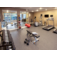 Fitness center with free weights, treadmills, and much more!