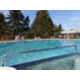 Heated outdoor pool at Holiday Inn Seattle-Issaquah.