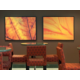 New Fresh Décor in Holiday Inn Itasca Hotel Lobby