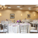 The Holiday Inn Itasca Ballroom can host 40 to 400 guests
