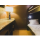 Kids Suite includes 1 king bed and two full sized bunk beds!