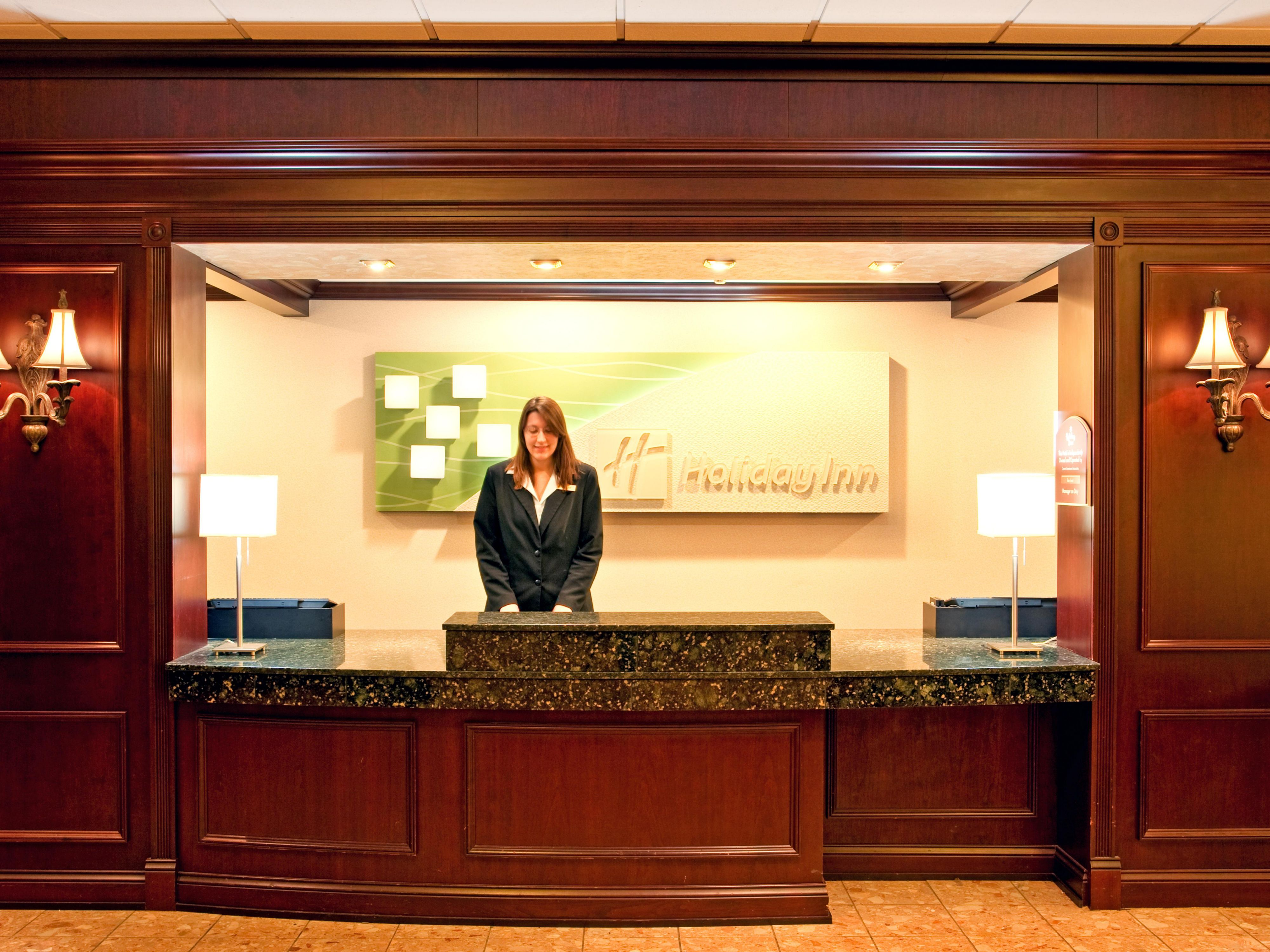 Welcome to the Holiday Inn Downtown Johnstown!
