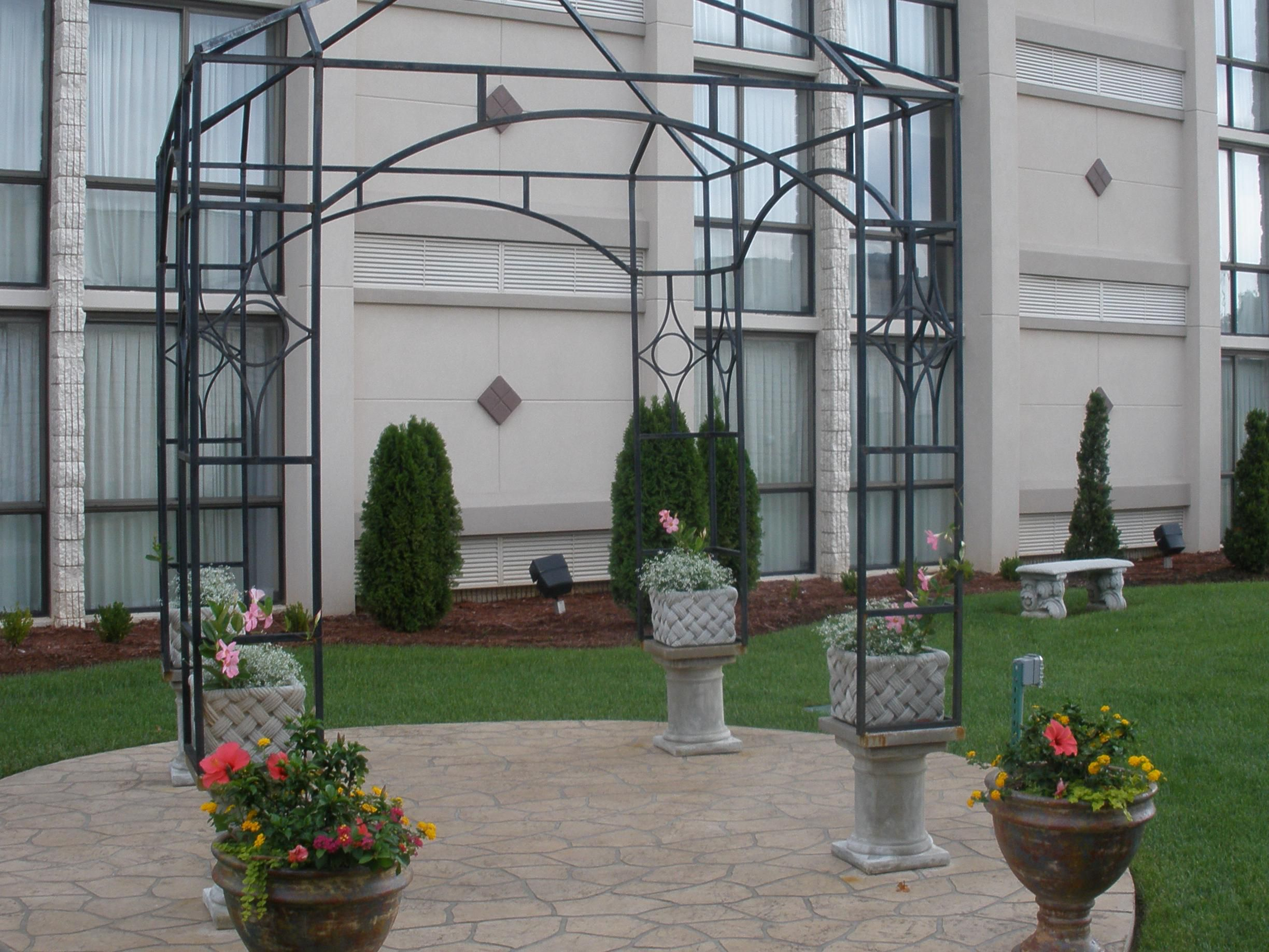 Gazebo in Courtyard Area