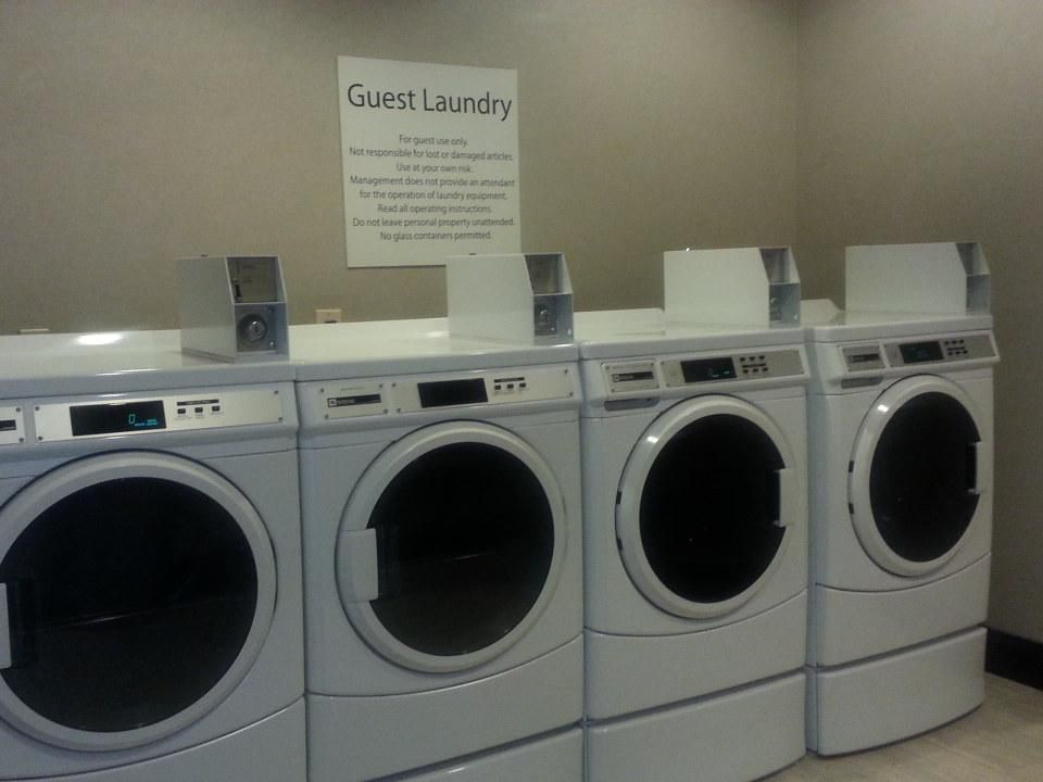 Laundry available 24 hours for your convenience.