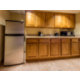 Kitchenette, with full sized refrigerator. Great for families