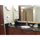 Our King One Bedroom Suite has an upgraded bathroom