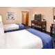 퀸 사이즈 침대 객실