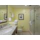 Glass Wall Shower Guest Bathroom