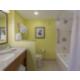 All guest bathrooms have granite top vanities