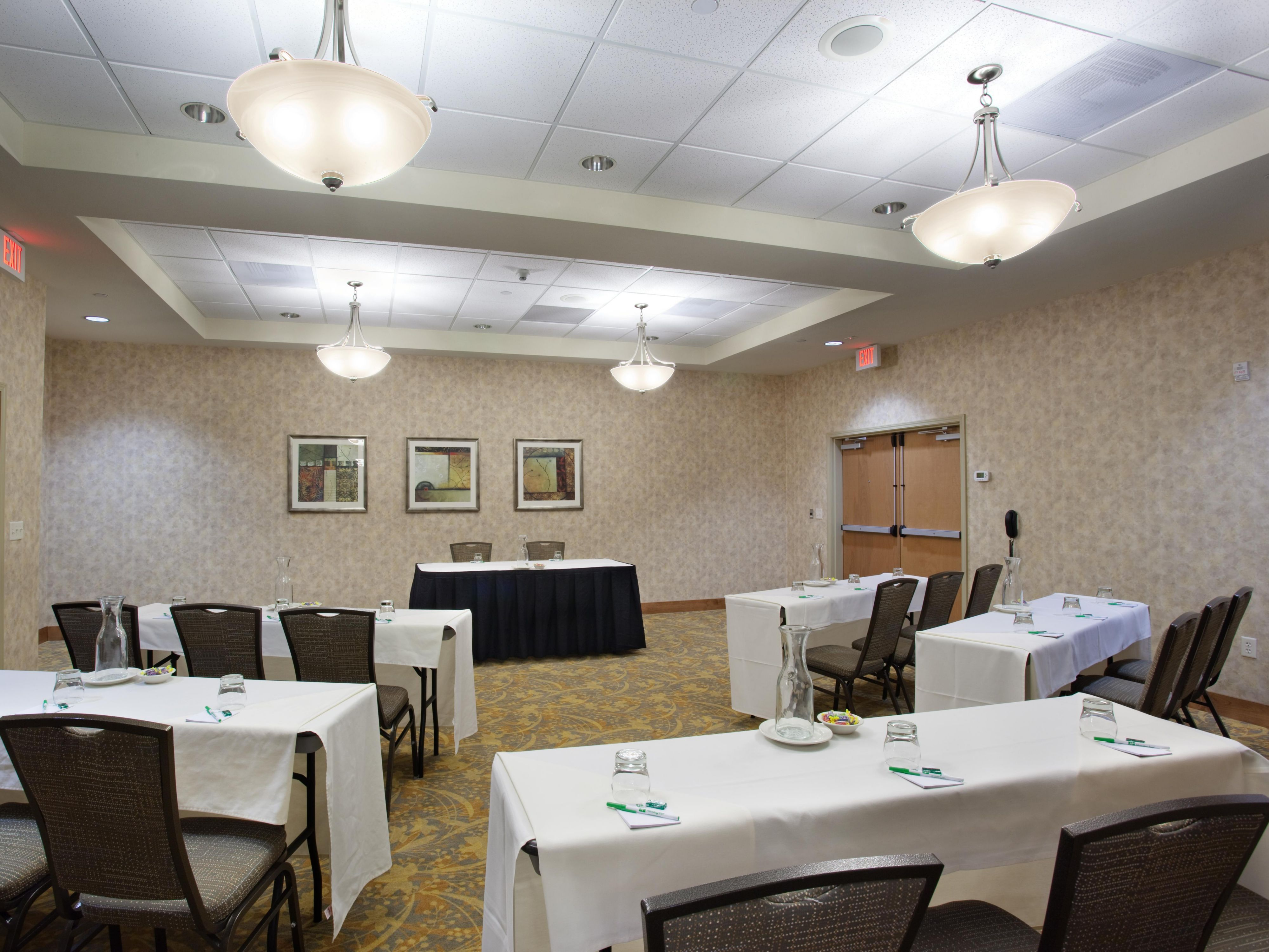 Meeting Room at the Holiday Inn in Laramie, WY