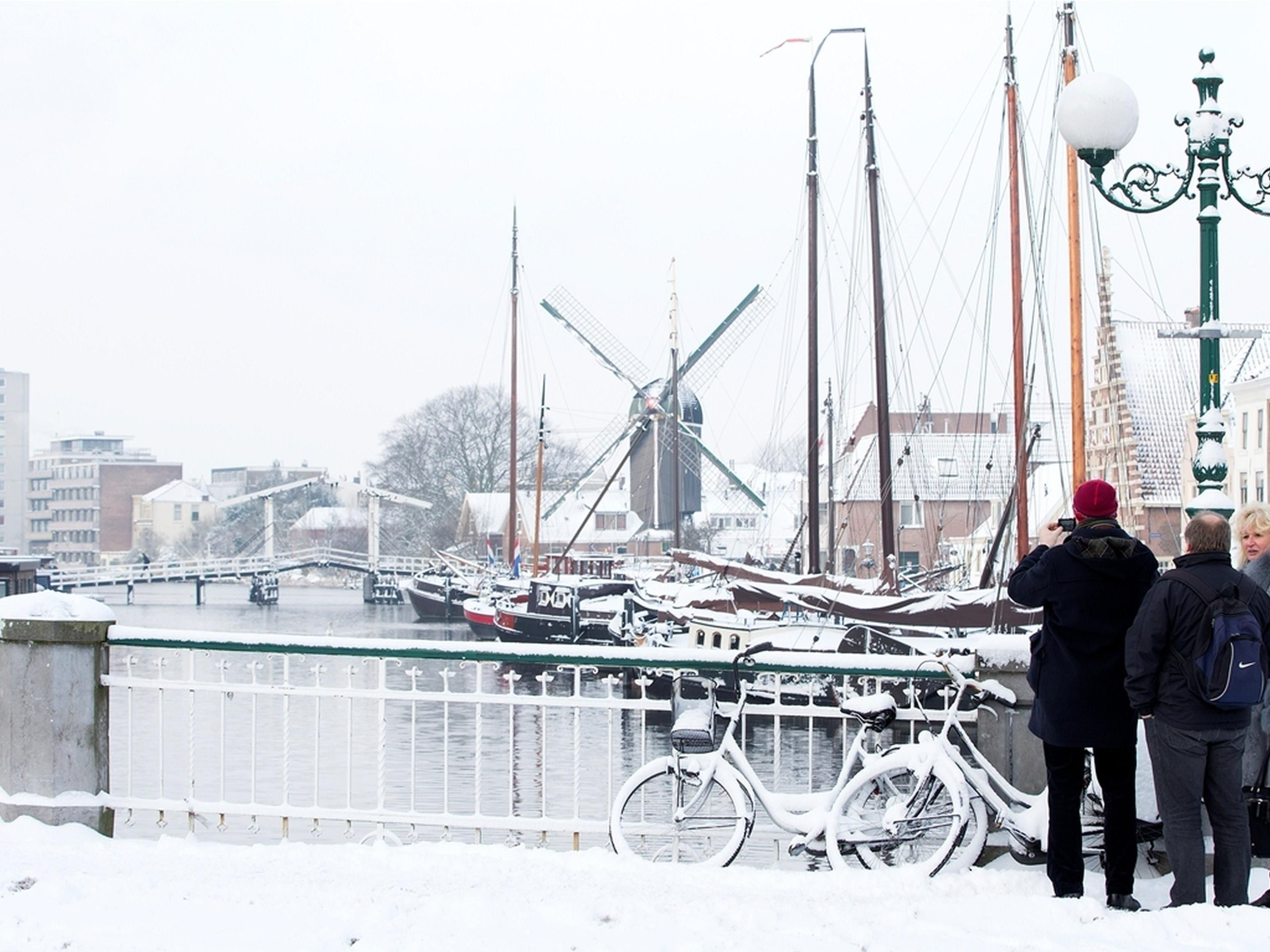 Winter in Leiden (Galgewater)