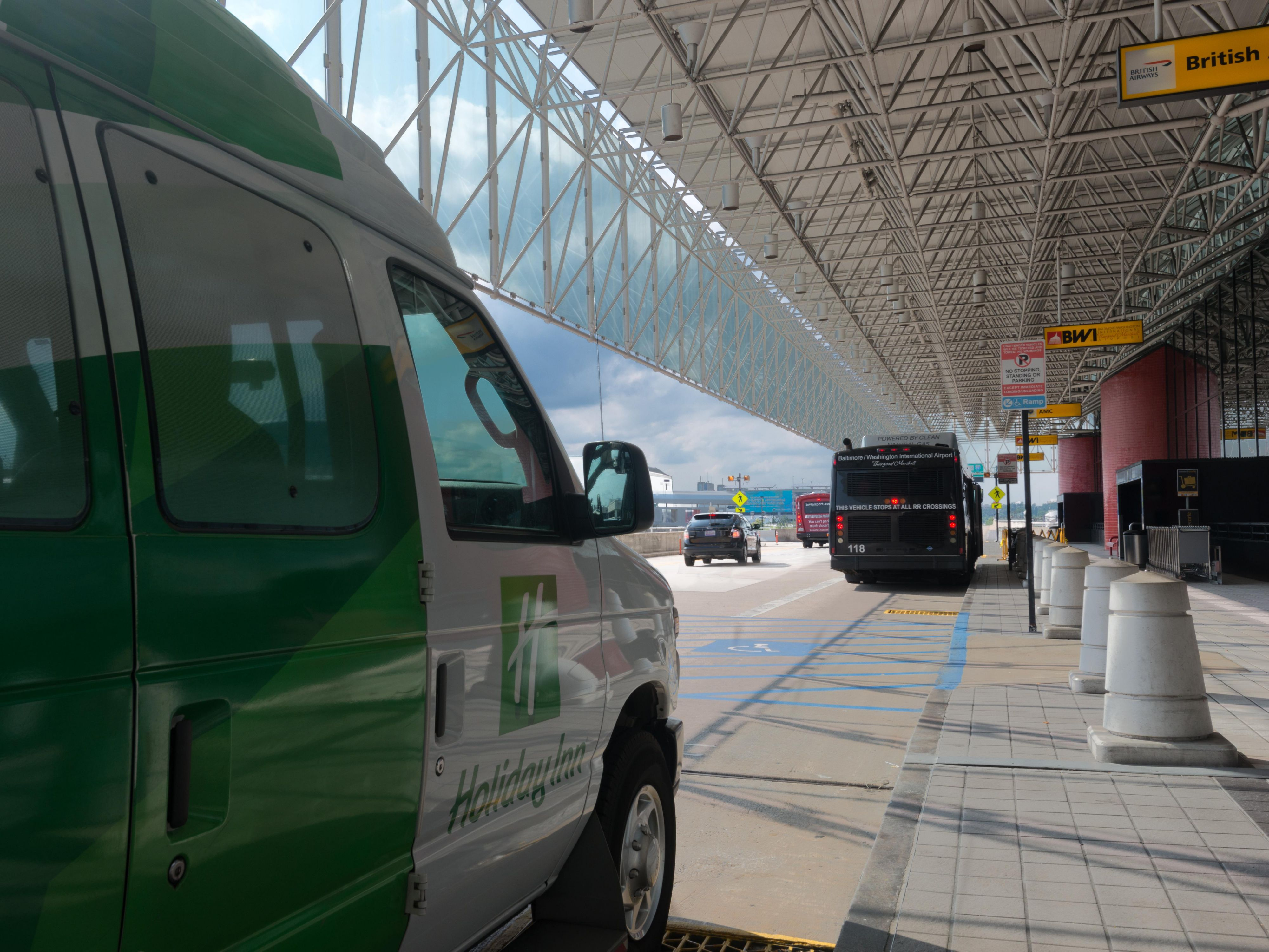 Shuttle service to and from airport