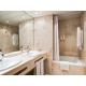 Marble bathroom in executive room.