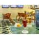 Bar avec ambiance sportive