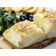 Cod on cornbread and turnip greens (Portuguese dish)