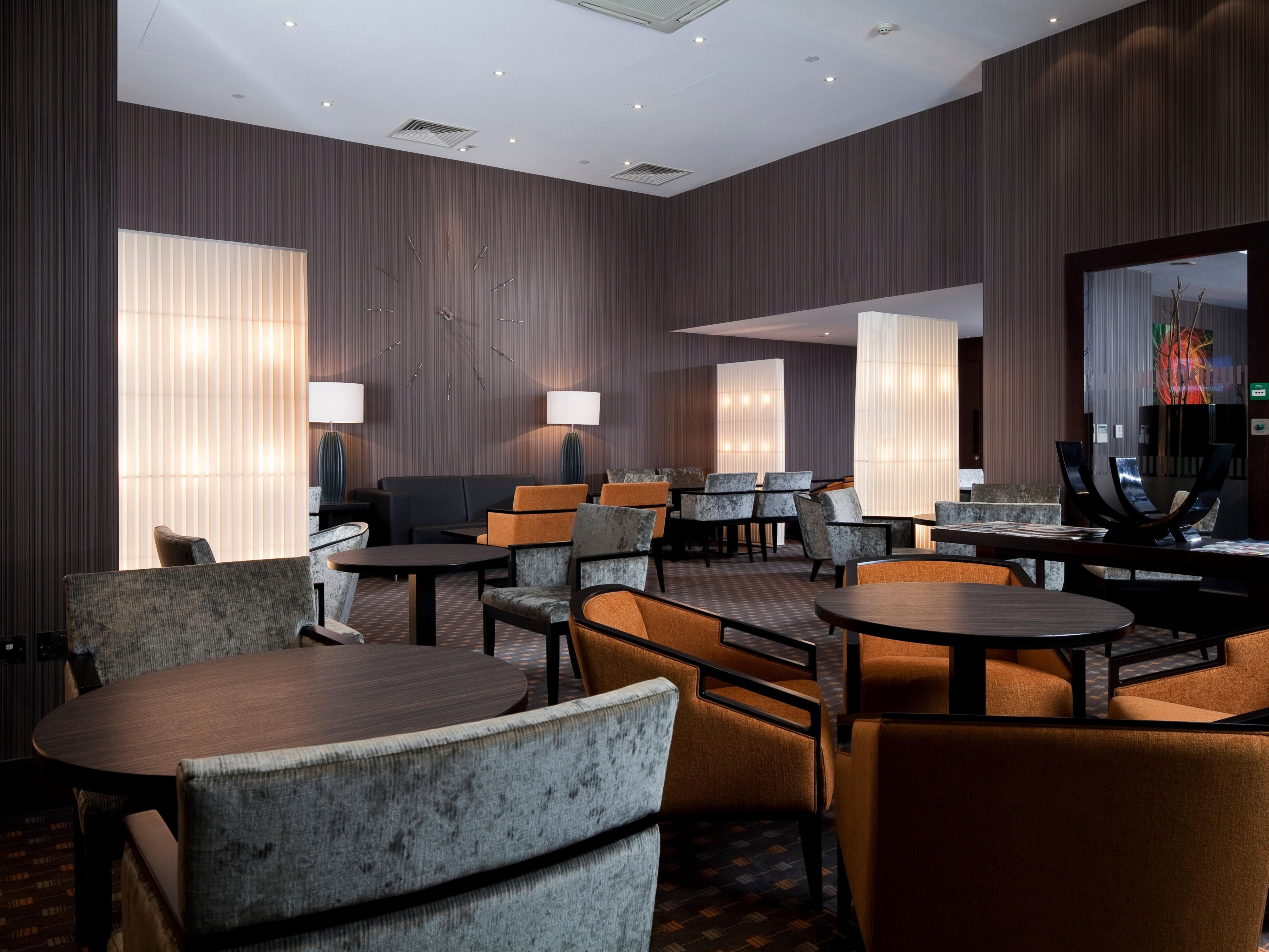 Treat yourself to an upgrade to the brand new business lounge