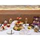 Bevi il tè del pomeriggio nel ristorante 2012
