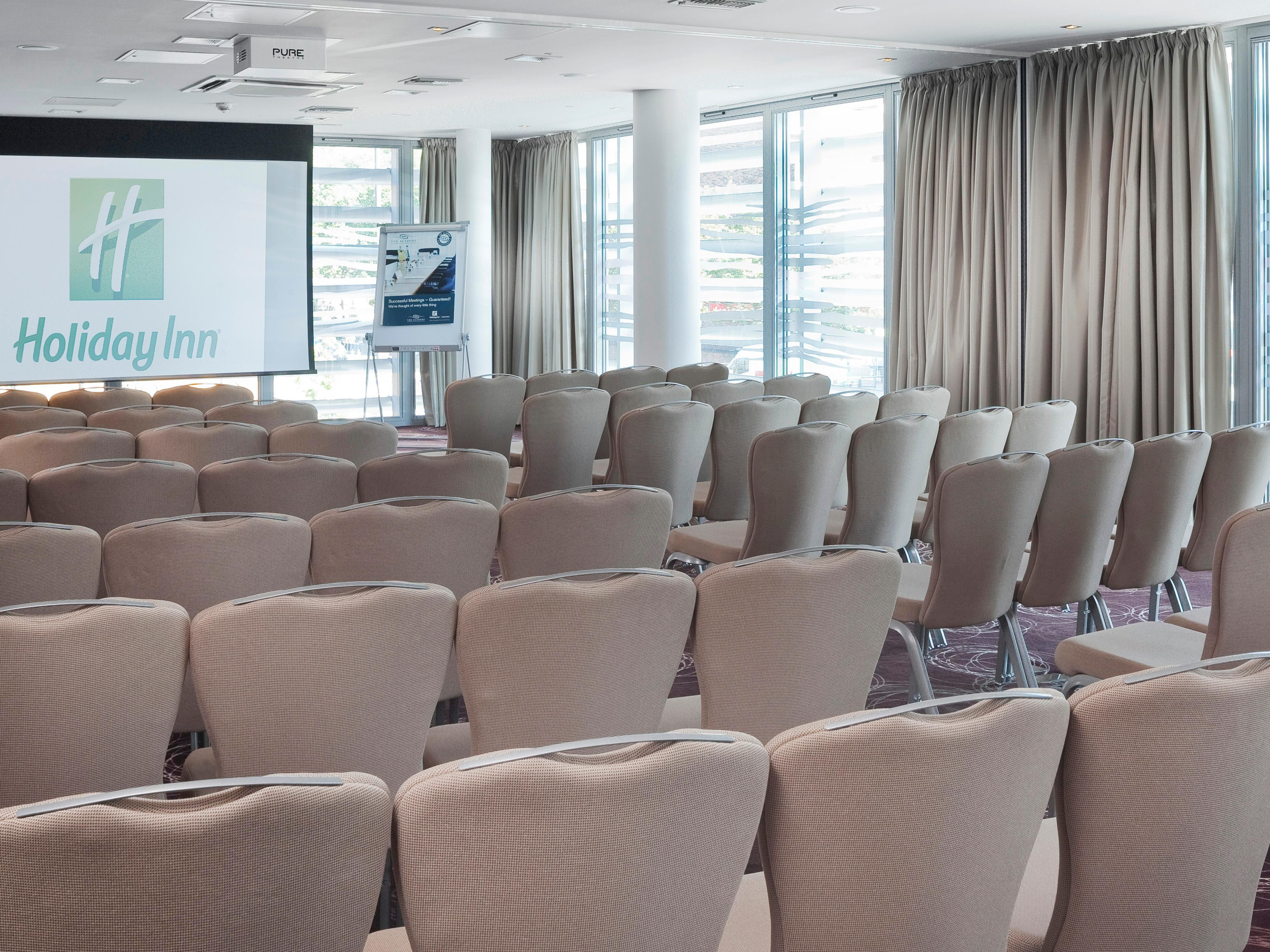 Conference Room in Theatre Style set up