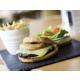 Überdachter Speisesaal