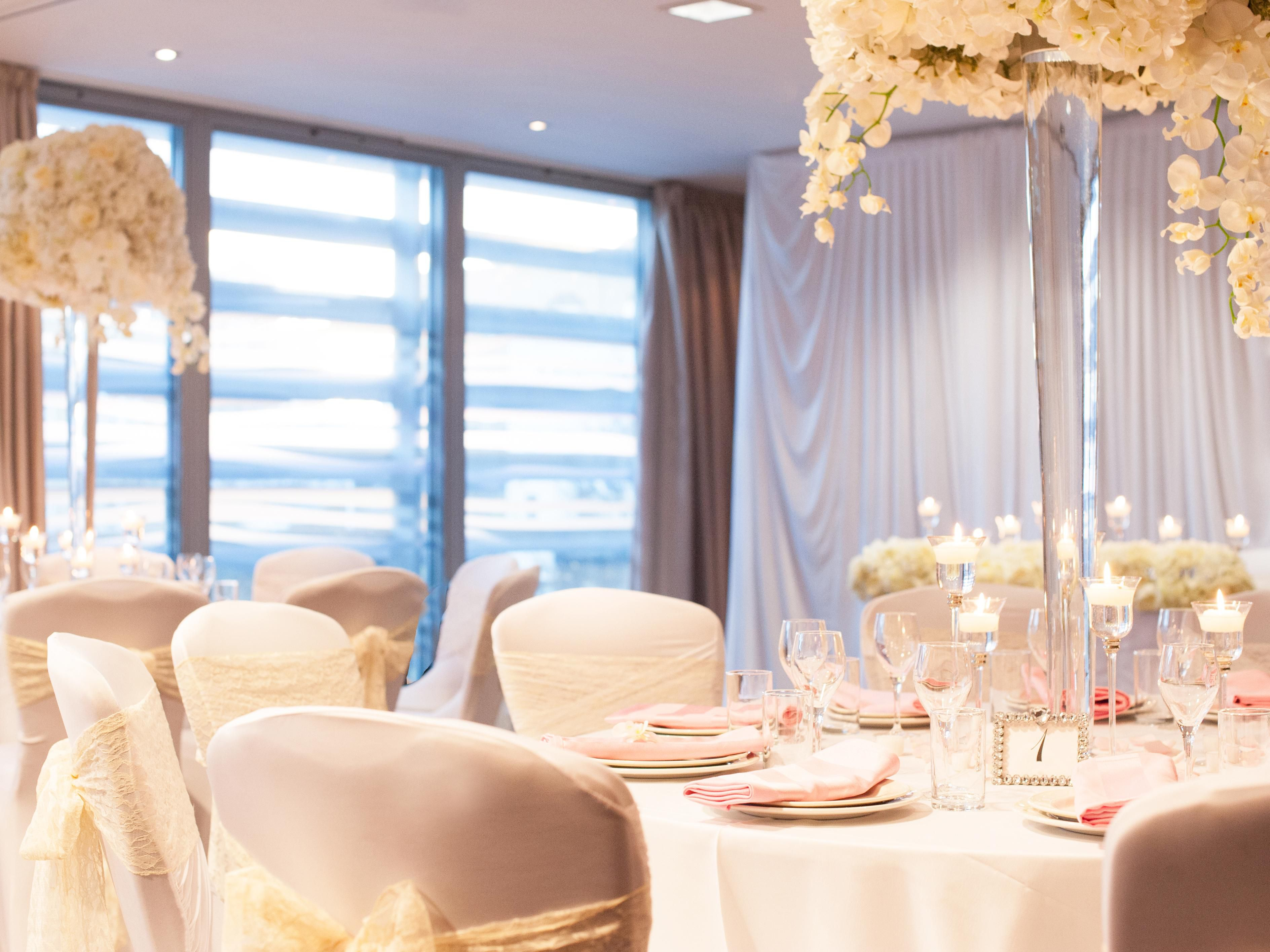Intimate wedding venue in East London