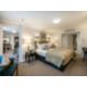 Holiday Inn London Kensington Executive Suite Bedroom area