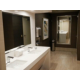 Our modern style restrooms offer all of the convenient amenities.