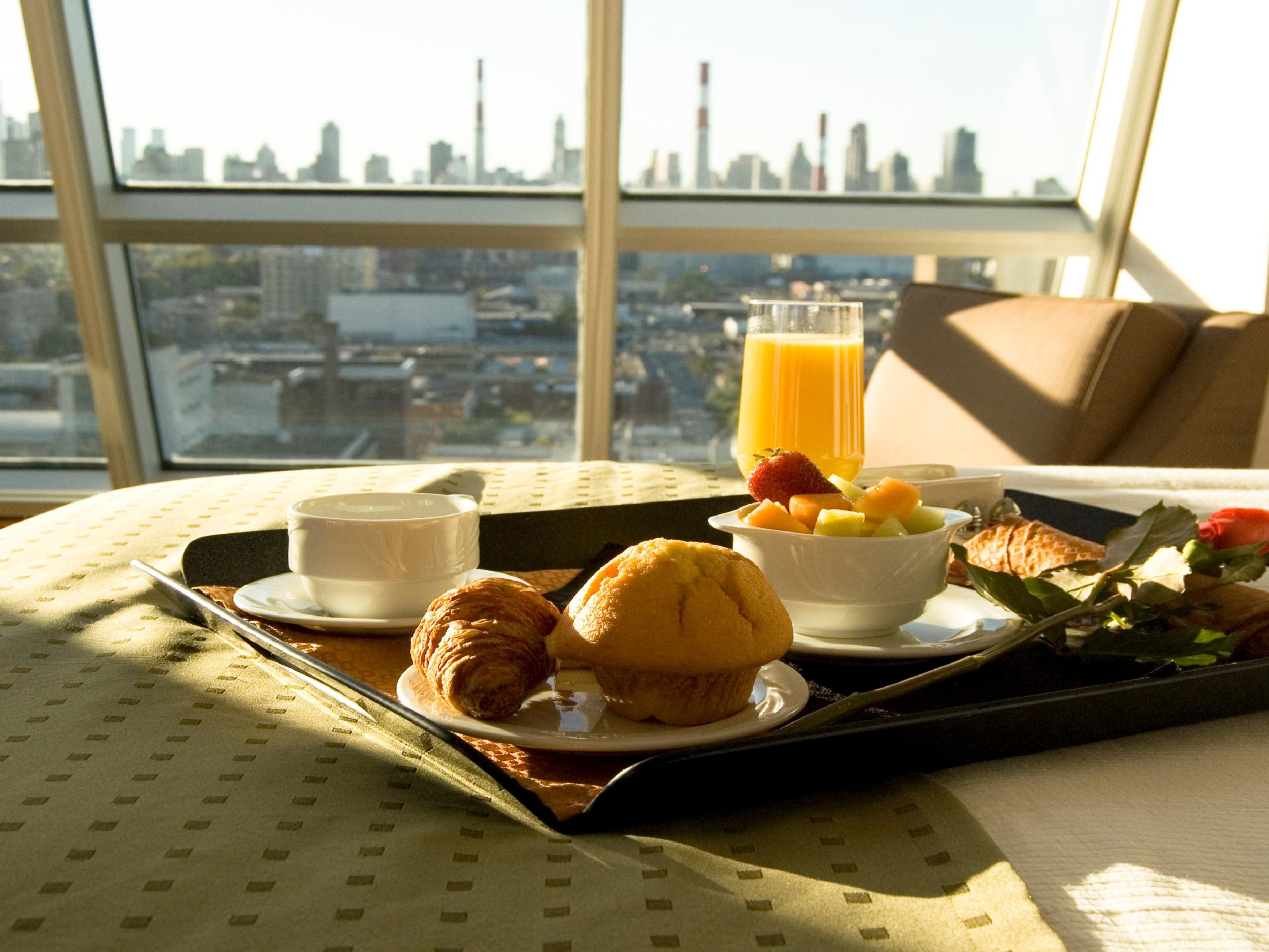 Relax in your room with a Room Service breakfast or dinner