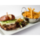 Our delicious roast duck burger!