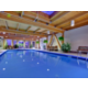Spacious indoor heated swimming pool