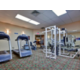 Our well appointed fitness center allows you to stay in shape!