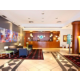 Spacious Hotel Lobby at Holiday Inn Madrid - Calle Alcala