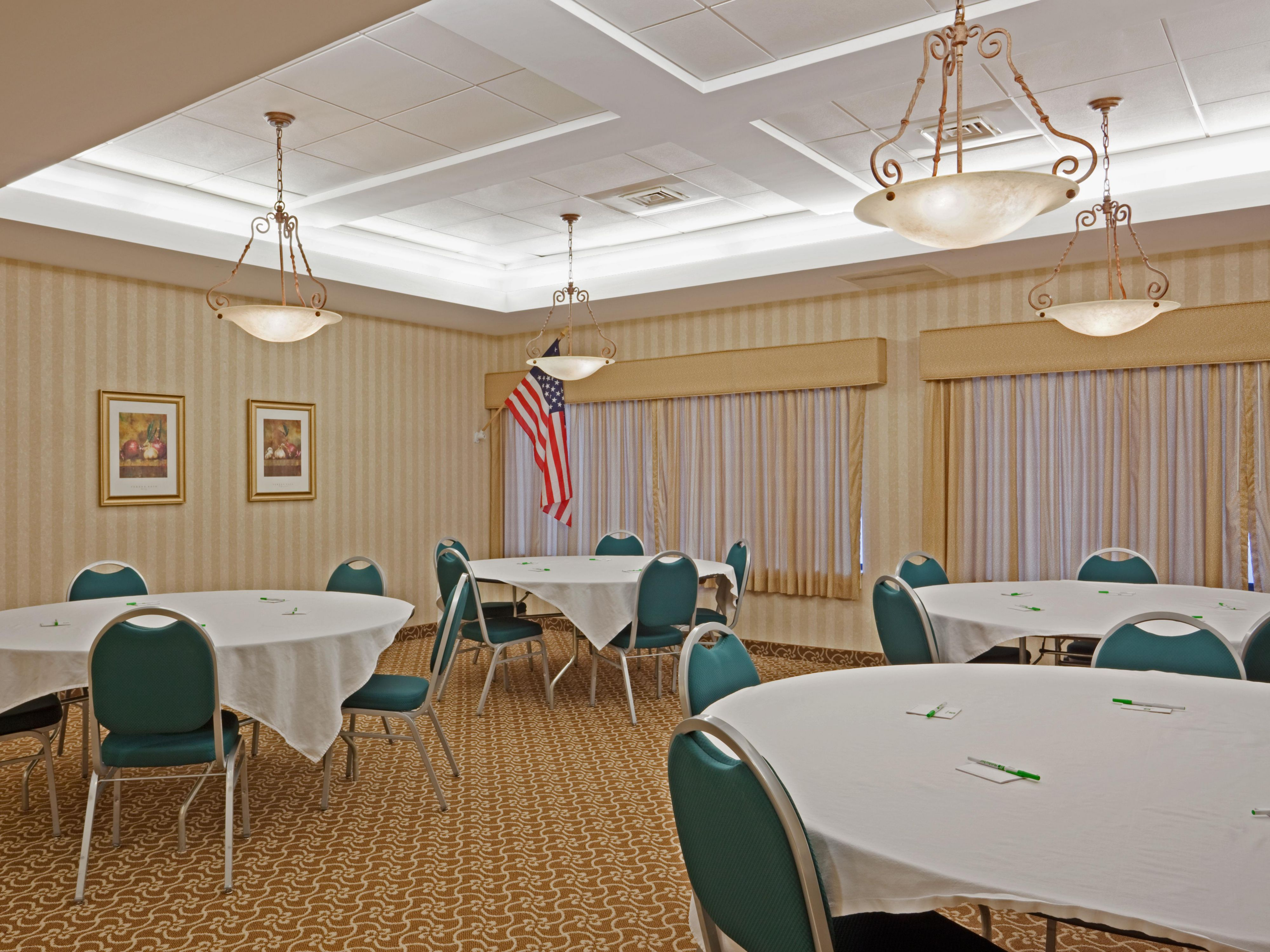 Grenier Room, accommodates groups of up to 50!