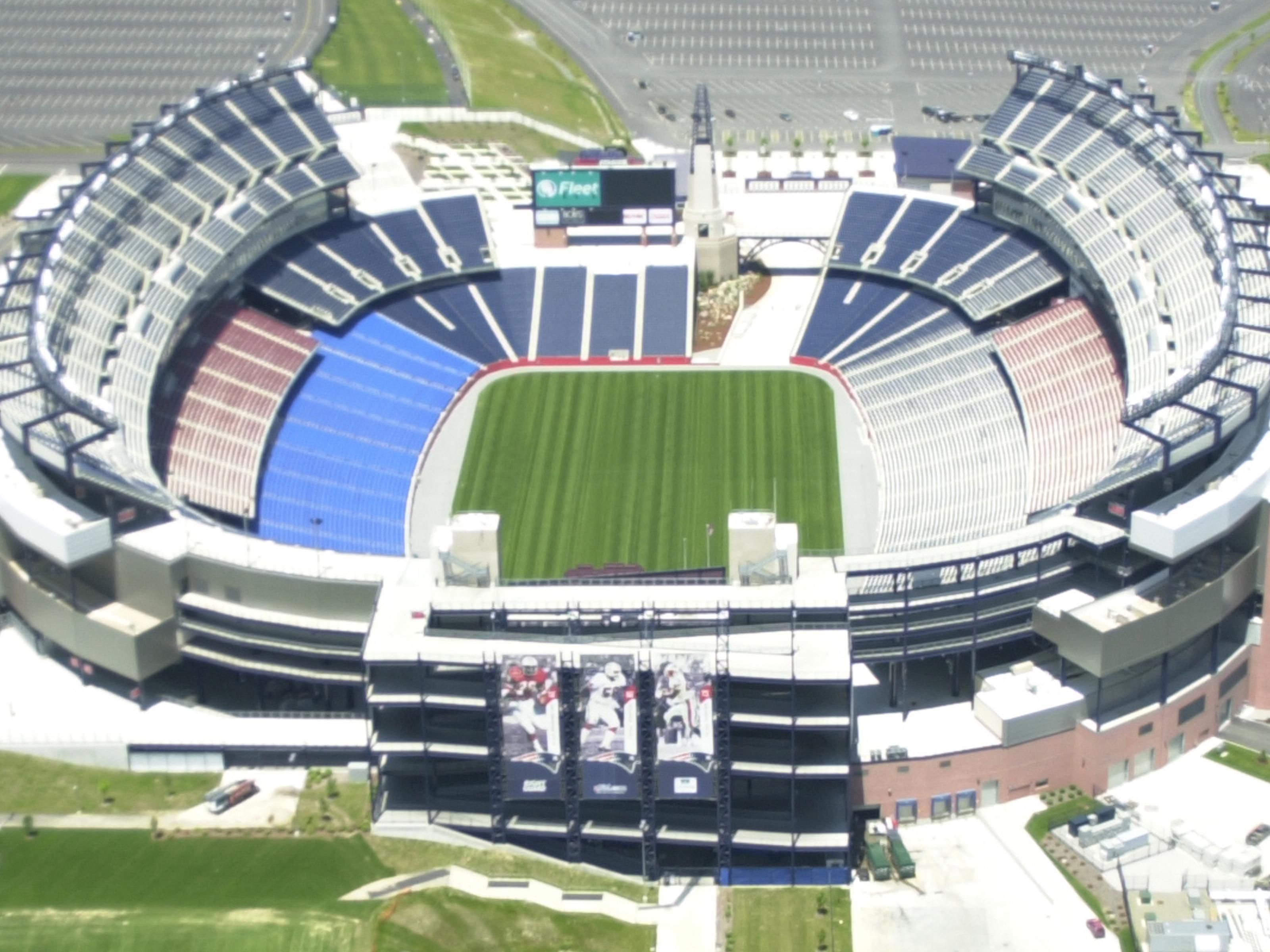 Gillette Stadium Home of the NE Patriots and Revolution