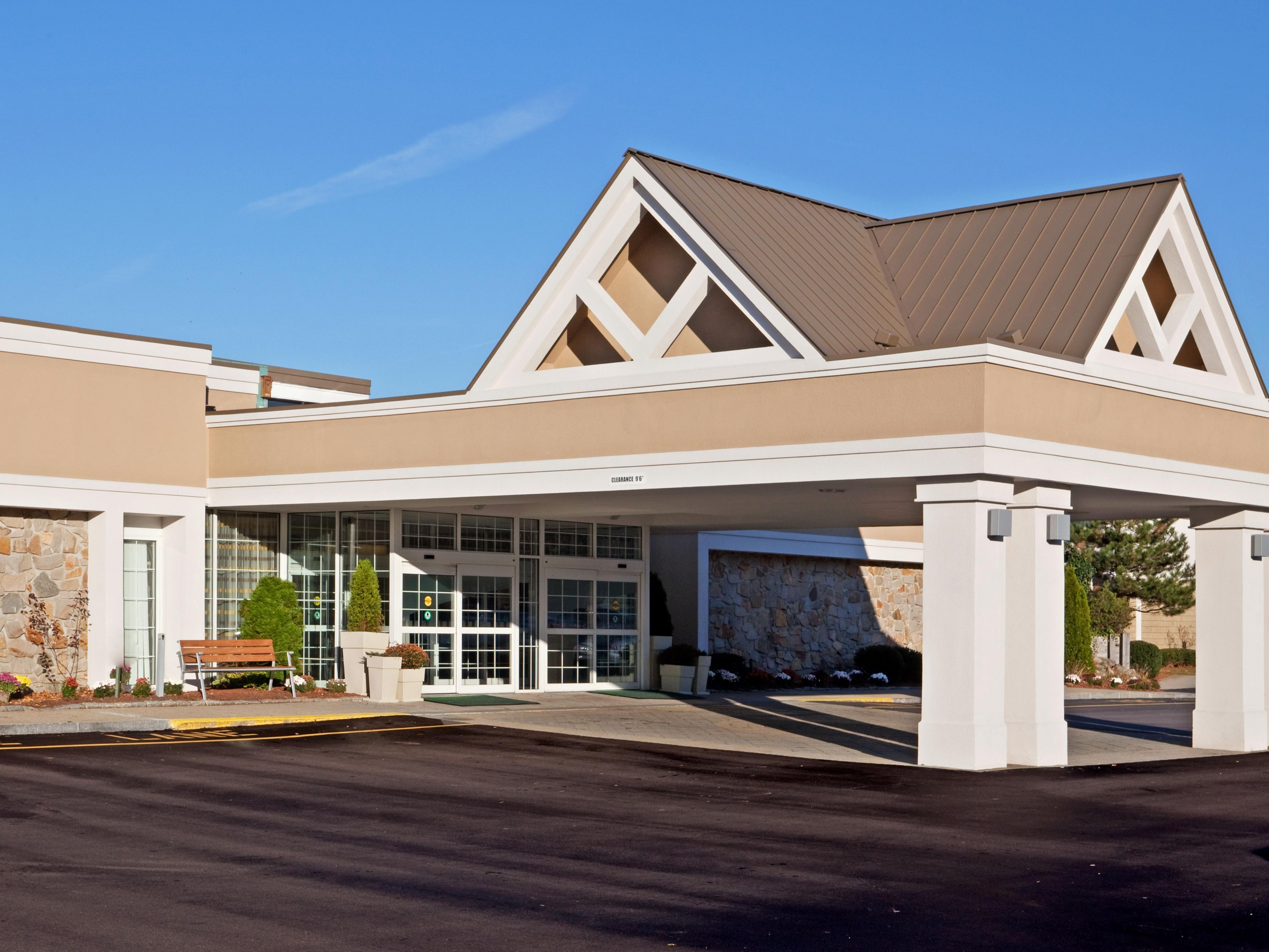 Hotel Front , Great location off I-95 and I-495