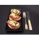 Tomato Bruschetta with Fetta, Capers & Parmesan