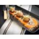 Mushroom & truffle arancini with romesco sauce & garlic aioli