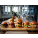 Burger range - Biggles Bar