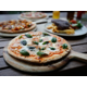 Gourmet Margherita Pizza - Biggles Bar