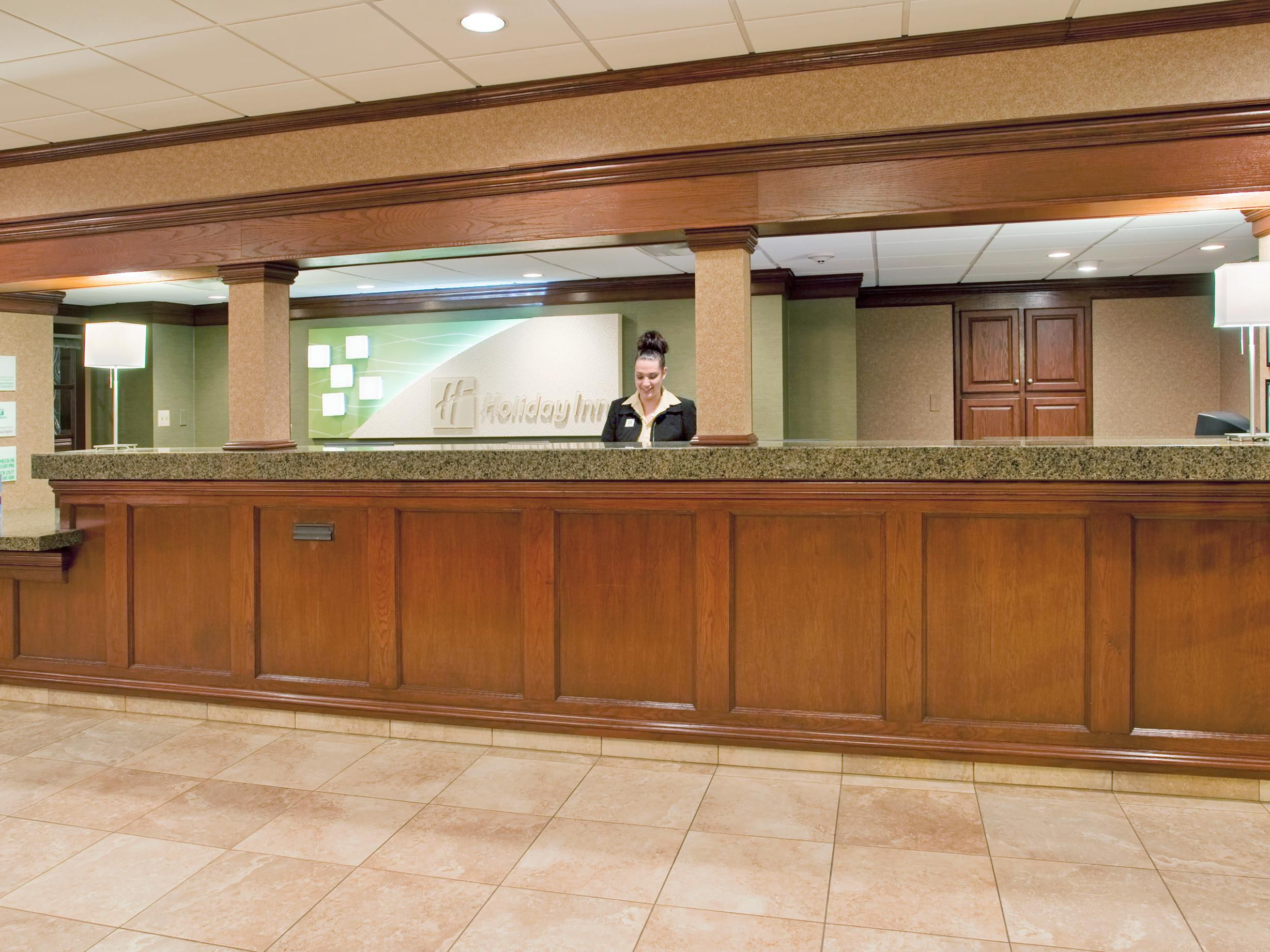 Welcome to the Holiday Inn South-Butler Hill!