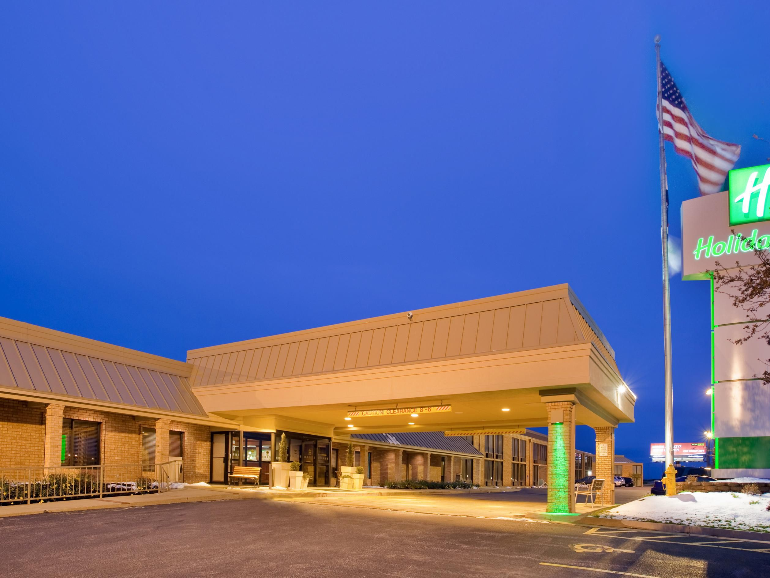 Relax at the beautiful Holiday Inn South!