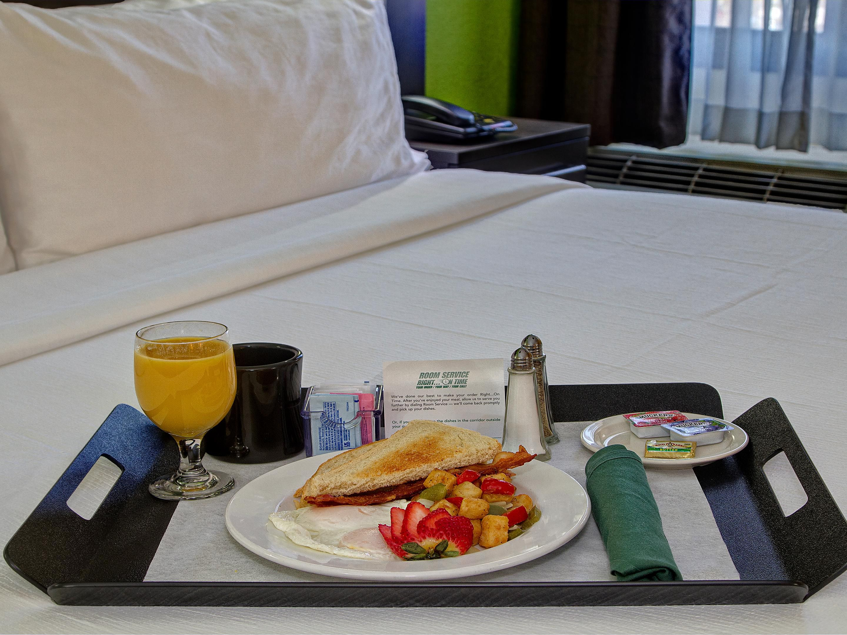 Need Extra Time Order Room Service - Holiday Inn Memphis Airport