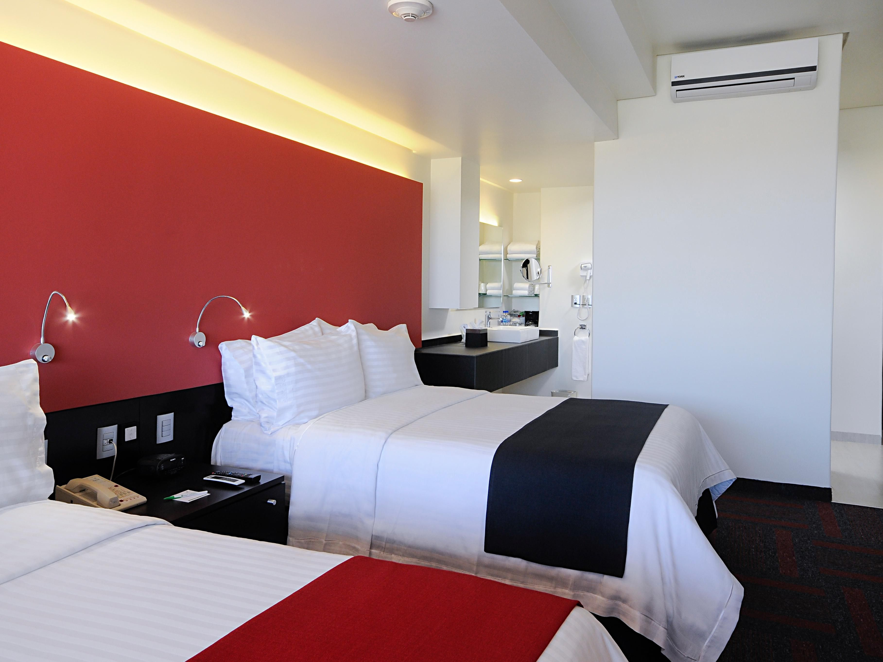 Two Double Beds Superior Room