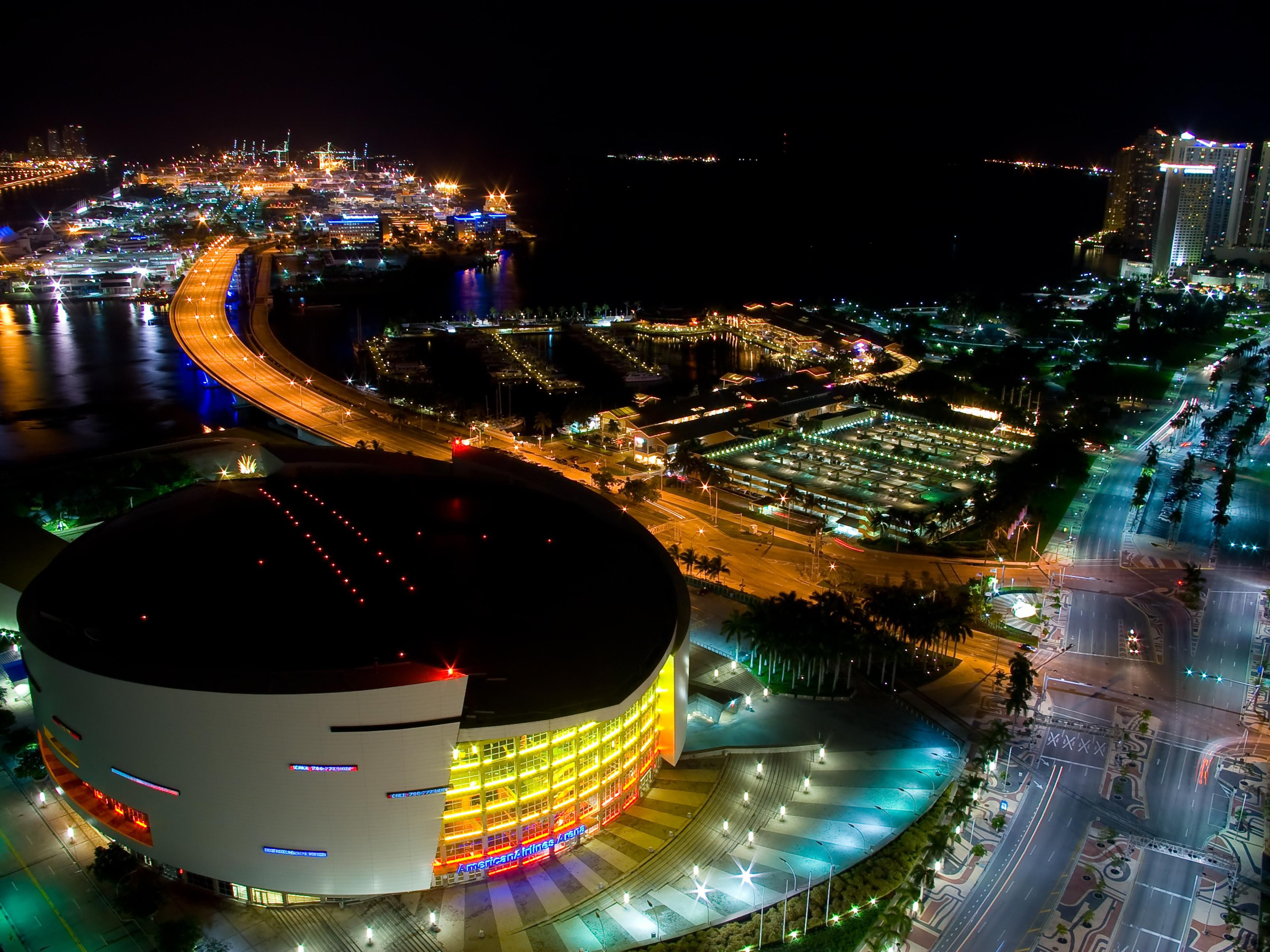 American Airlines Arena near Holiday Inn Miami Beach Oceanfront