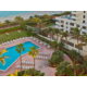 Holiday Inn Miami Beach Oceanfron Sundown view of pool and beach