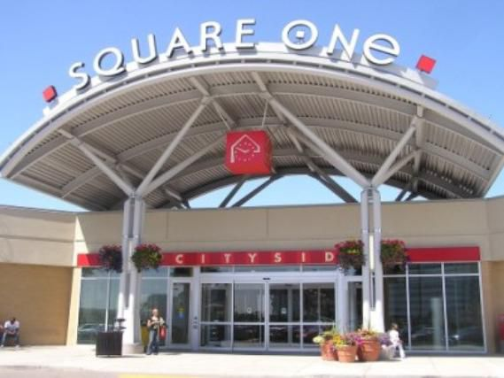Shop 'til you drop at Square One Mall