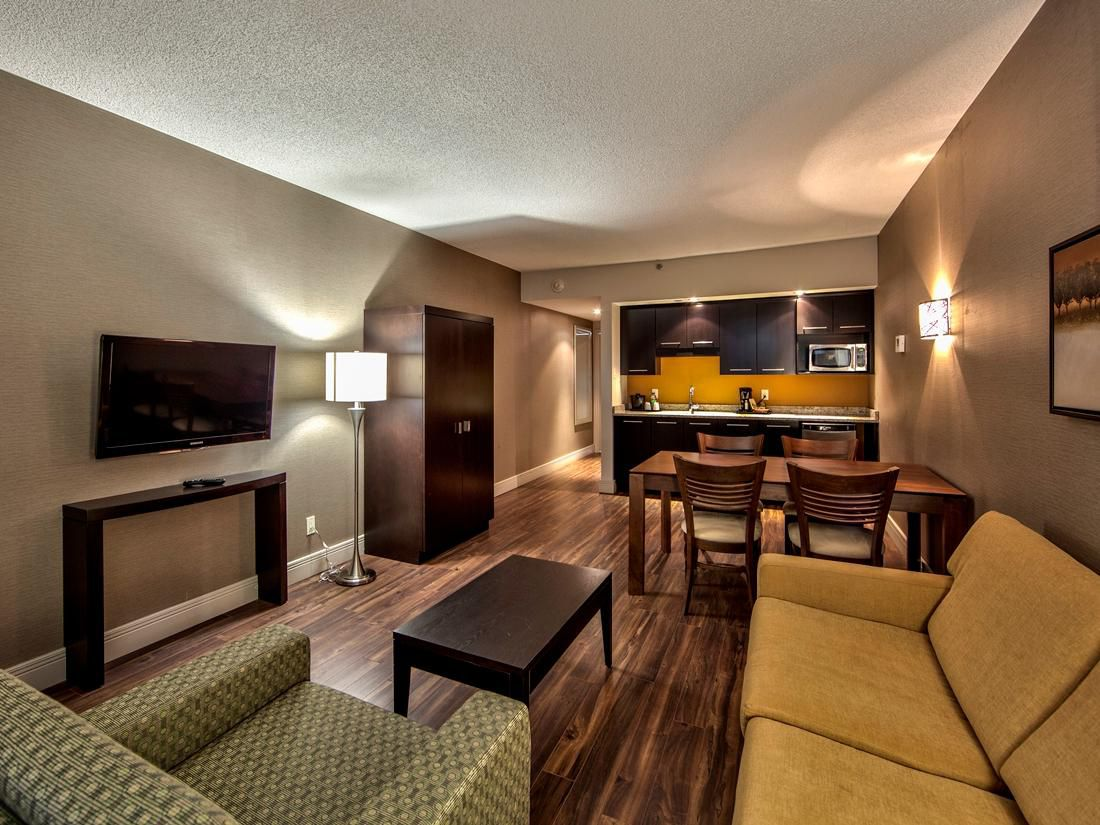 Make yourself at home in our extended stay suite