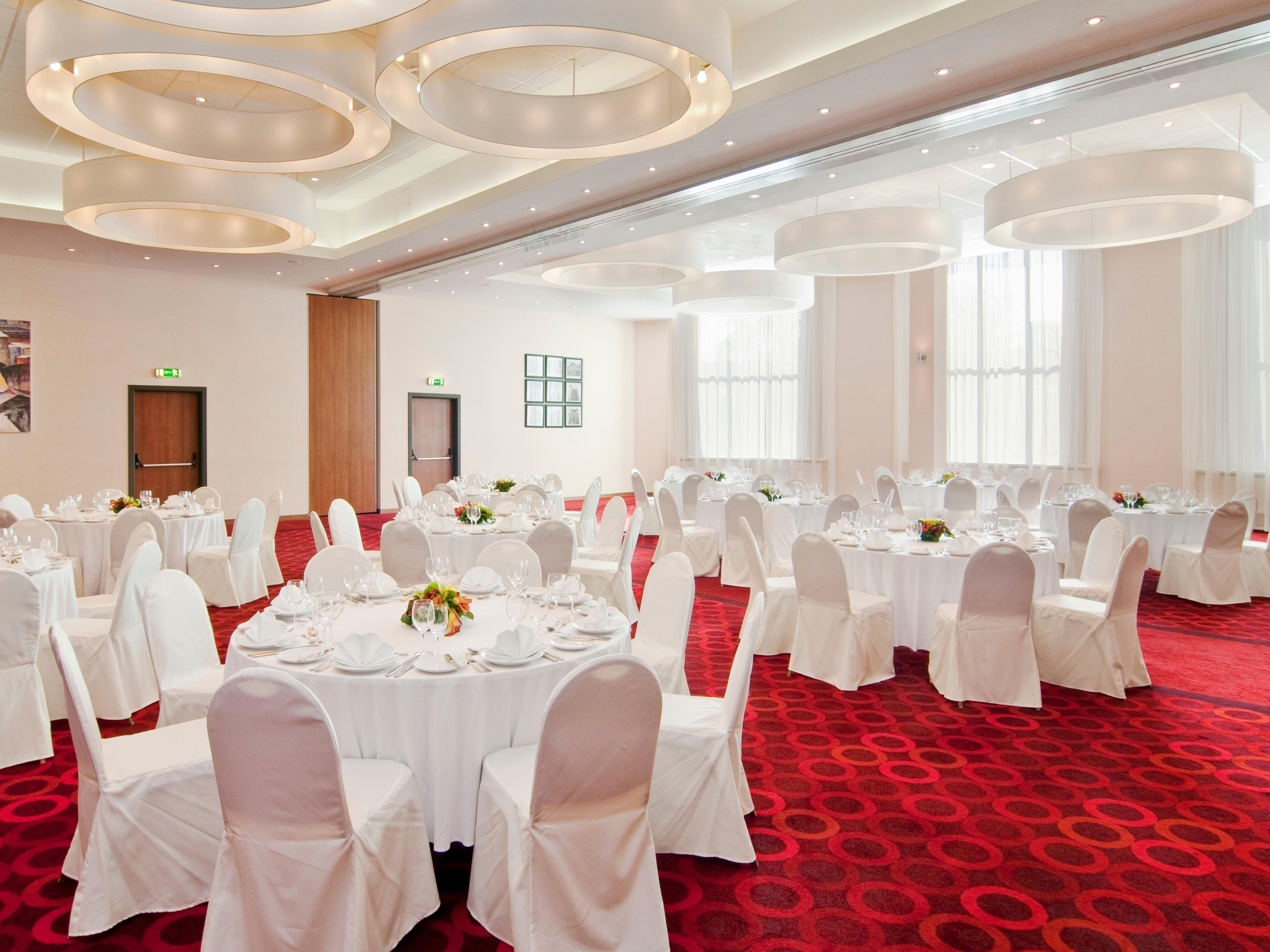 Book your wedding reception with us - Grand Ball Room.