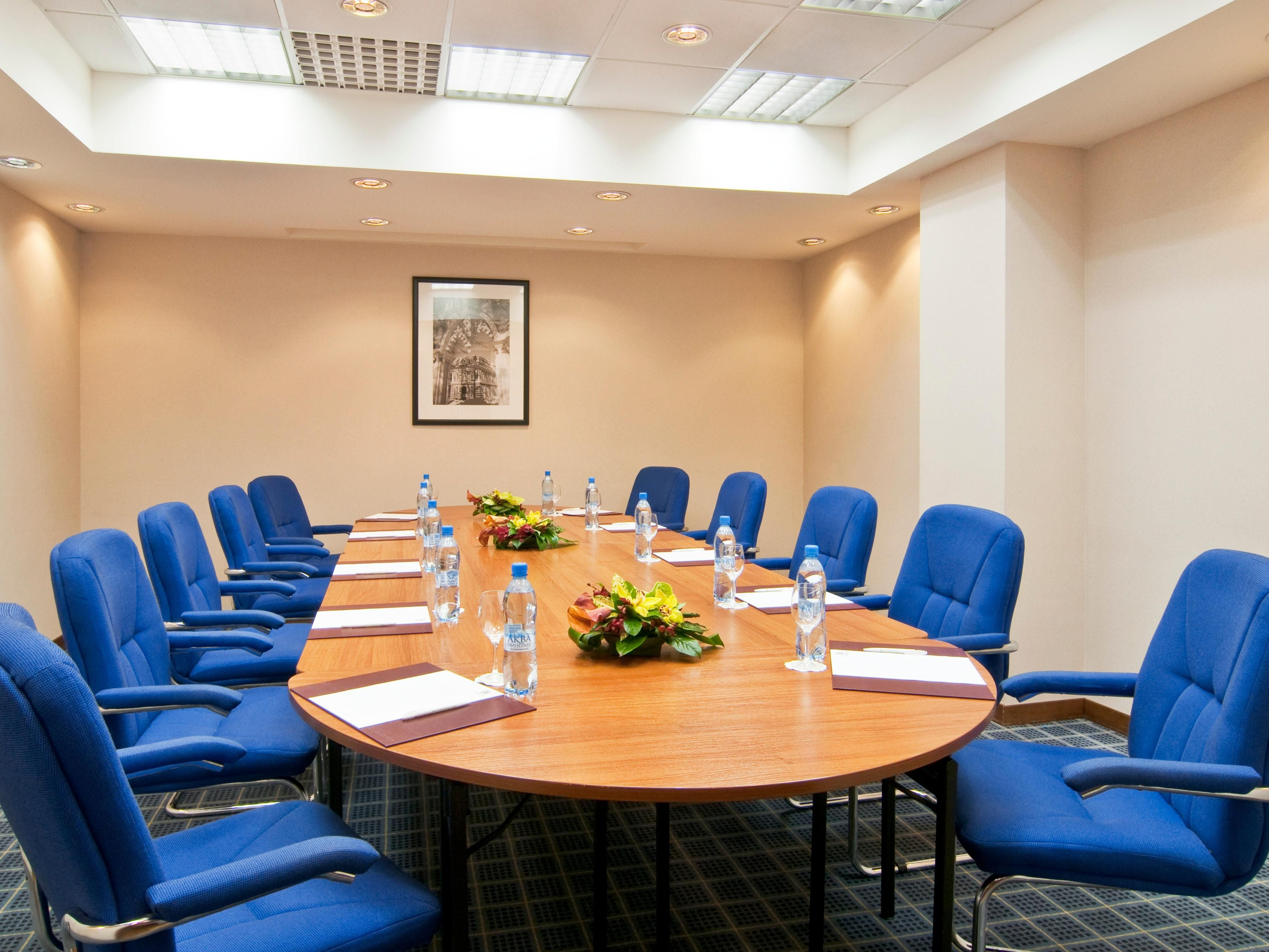 Smart choice for boardroom meetings and reviews– Rostov Room