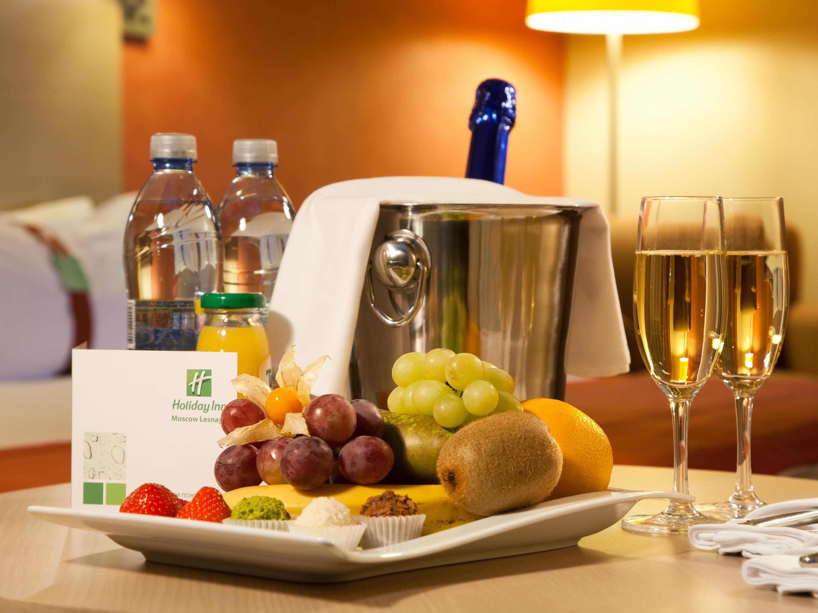 Indulge with out 24 hour Room Service